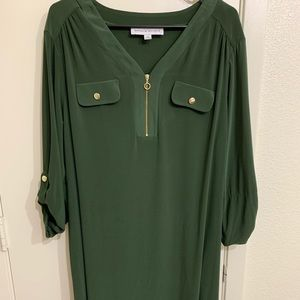 Women 3/4 sleeve dress